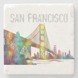 SAN FRANCISCO SKYLINE STONE COASTER