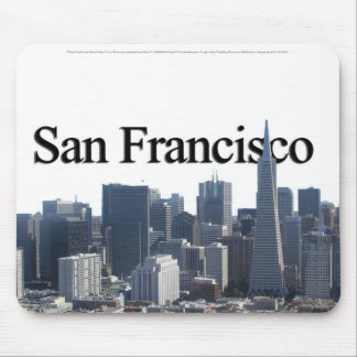 San Francisco Skyline w/ San Francisco in the Sky Mouse Pad