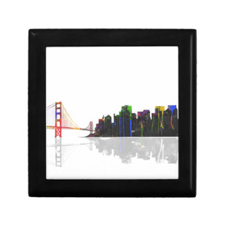 SAN FRANCISCO SKYLINE - Wooden Jewellery Box Jewelry Box