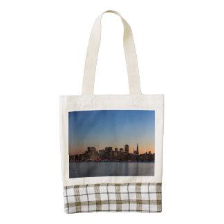 San Francisco Skyline Zazzle HEART Tote Bag