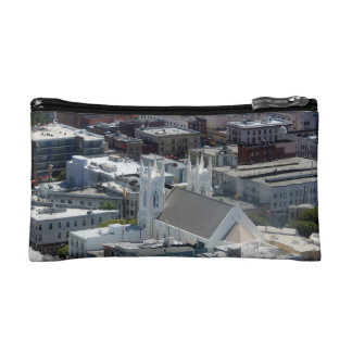 San Francisco St Francis of Assisi Church Makeup Bag