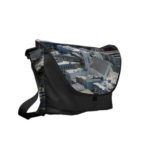 San Francisco St Francis of Assisi Church Courier Bag