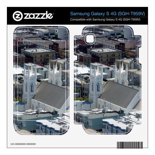 San Francisco St Francis of Assisi Church Samsung Galaxy S 4G Skins