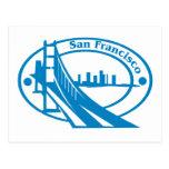 San Francisco Stamp Postcard