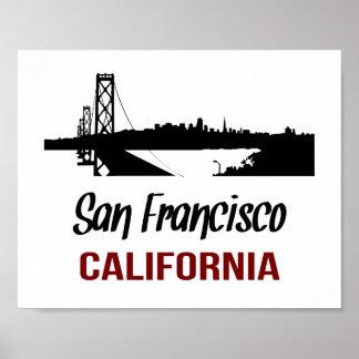San Francisco  (standard picture frame size) Poster