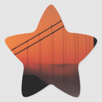SAN FRANCISCO STAR STICKER