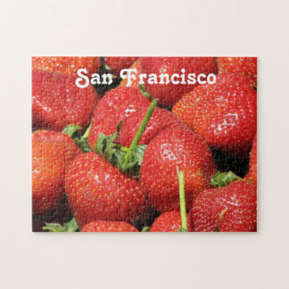 San Francisco Strawberries Jigsaw Puzzle