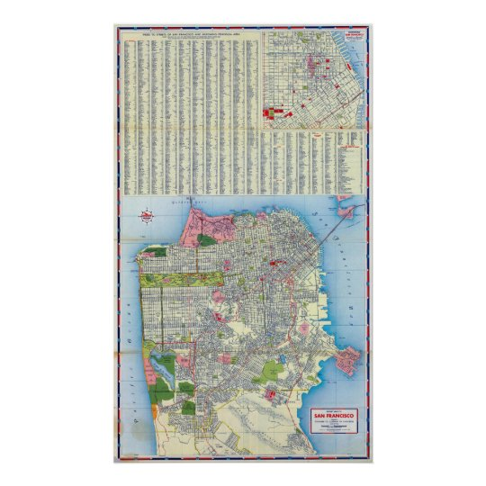 San Francisco Street Map Poster on maryland map poster, florida map poster, united states map poster, california poster, chicago map poster, ohio map poster, toronto map poster, paris map poster, germany map poster, los angeles poster, brooklyn map poster, venice map poster, indianapolis map poster, mississippi map poster, hong kong map poster, austin map poster, new england map poster, seattle map poster, columbus map poster, north carolina map poster,