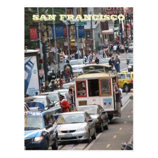 San Francisco Street Postcard! Postcard