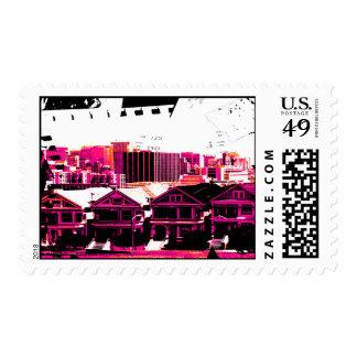 San Francisco Street Scene Postage Stamp