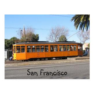 San Francisco Streetcar Postcard