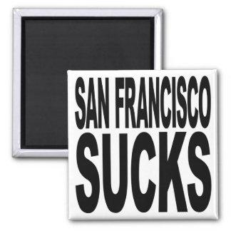 San Francisco Sucks Refrigerator Magnet