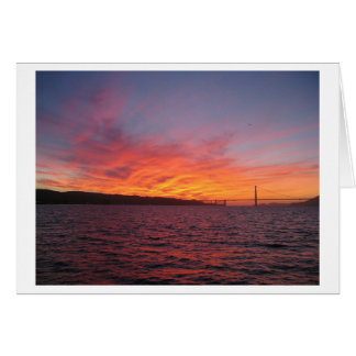San Francisco Sunset Card