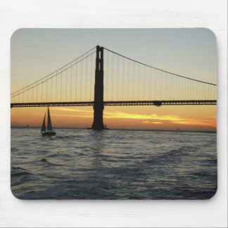 San Francisco Sunset Mouse Pad