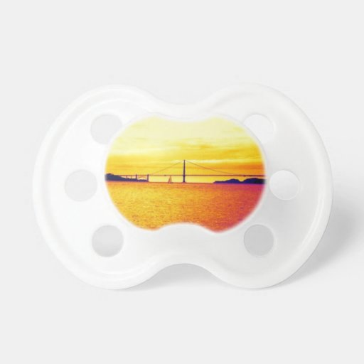 San Francisco Sunset Baby Pacifier
