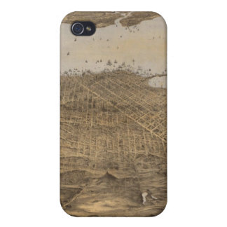 San Francisco, surrounding country iPhone 4/4S Cover