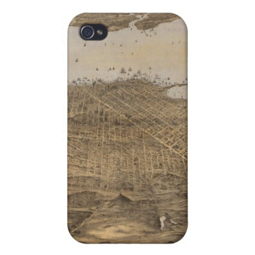 San Francisco, surrounding country Case For iPhone 4