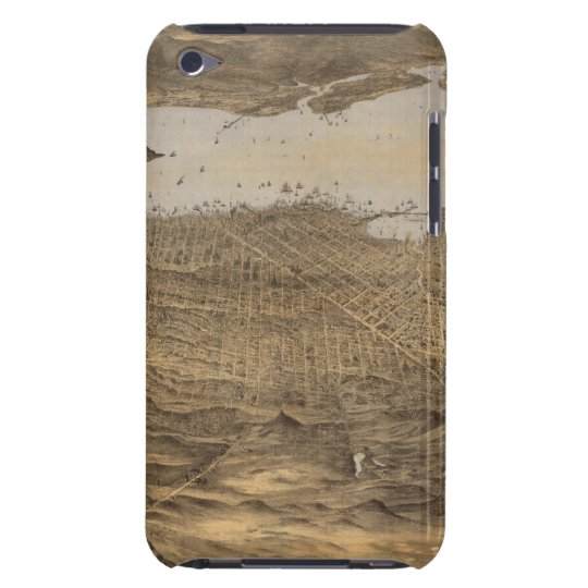 San Francisco, surrounding country iPod Touch Cover