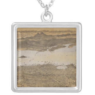 San Francisco surrounding country Custom Necklace