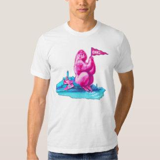 "San Francisco ""talenthousecontest"" pink gorilla T-Shirt"