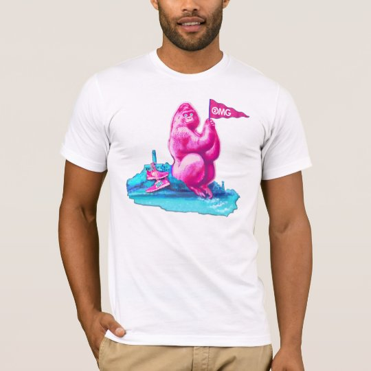"San Francisco ""talenthousecontest"" pink gorilla T-Shirt"