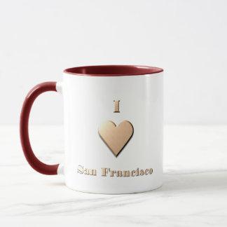 San Francisco -- Tan Mug