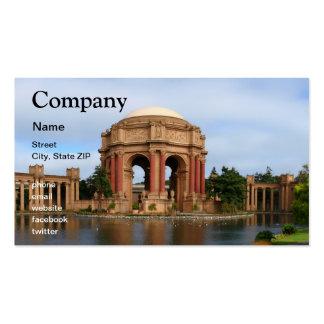 San Francisco Plantillas De Tarjetas De Visita