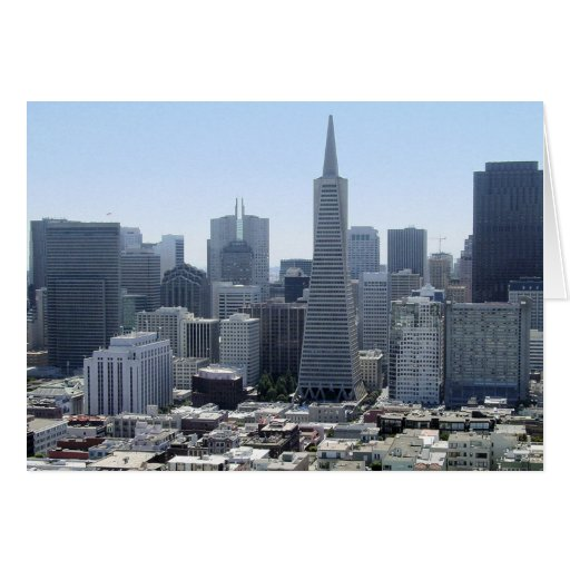 San Francisco Tarjeta De Felicitación