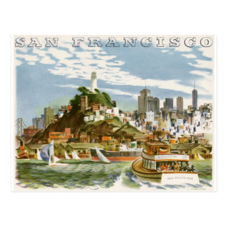 San Francisco Tarjeta Postal