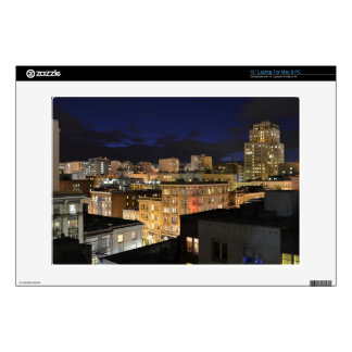 "San Francisco Tenderloin 13"" Macbook Sleeve 13"" Laptop Decal"