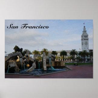 San Francisco The Embarcadero Poster