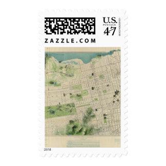 San Francisco Timbre Postal