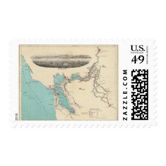 San Francisco to Sacramento Postage