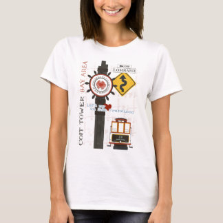 San Francisco Travel Spots T-Shirt