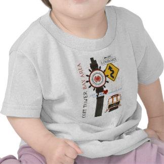 San Francisco Travel Spots T-shirts
