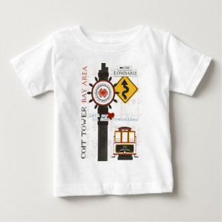 San Francisco Travel Spots T-shirts