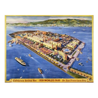 San Francisco Treasure Island Postcard