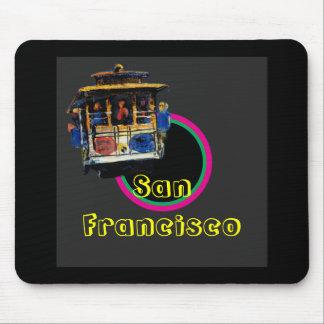 San Francisco Trolley1 Mouse Pad