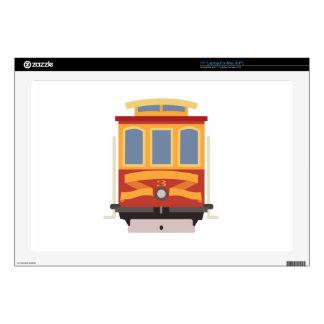 "San Francisco Trolley 17"" Laptop Skin"