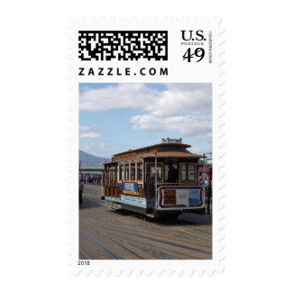 San Francisco Trolley Cars Postage Stamps