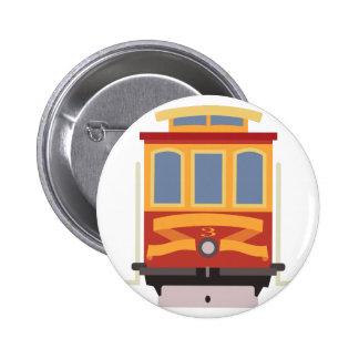 San Francisco Trolley Pinback Button