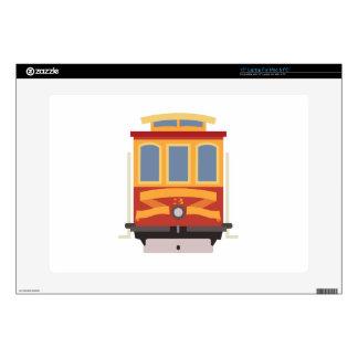 "San Francisco Trolley Skins For 15"" Laptops"