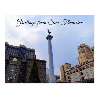 San Francisco Union Square #4-4 Postcard