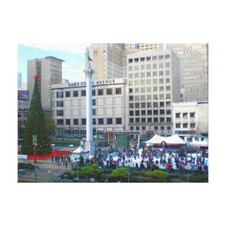 San Francisco Union Square #5 Canvas