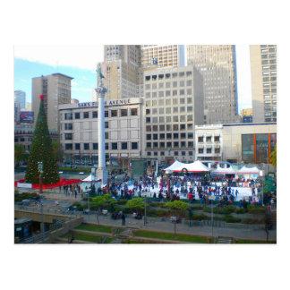 San Francisco Union Square #5 Postcard