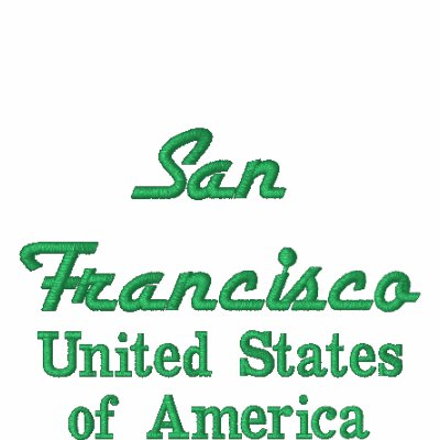 San Francisco United States of America Polo Shirt