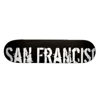 San Francisco - Urban Style - Skateboard
