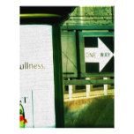 San Francisco  Urban Thoughts Personalized Letterhead