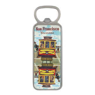 San Francisco USA Vintage Travel bottle opener