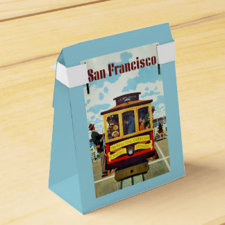 San Francisco USA Vintage Travel favor box